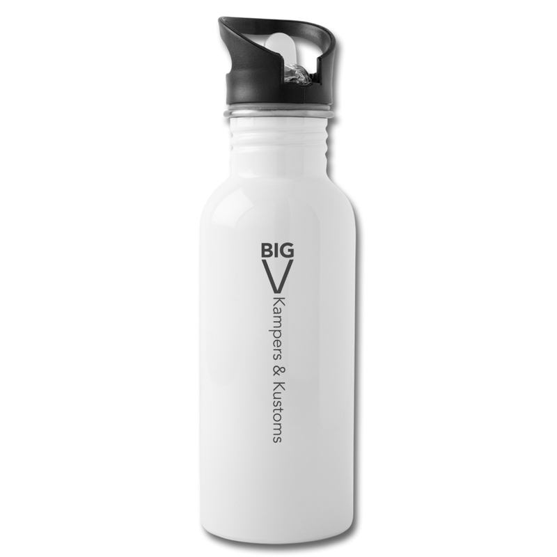 Kampers & Kustoms Water Bottle - white