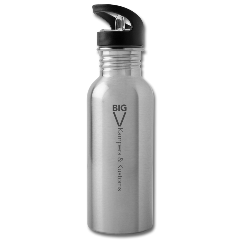 Kampers & Kustoms Water Bottle - silver