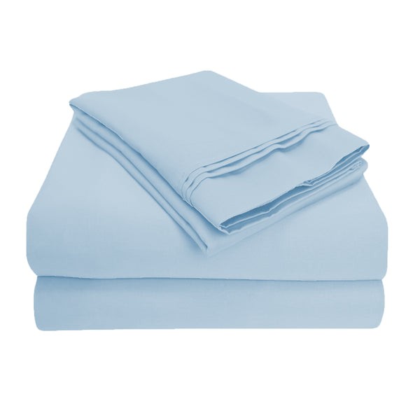 Luxurious 1000-Thread-Count Sheet Set, Premium Long-Staple Cotton, 3 Colors