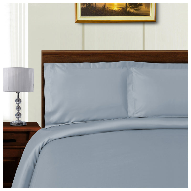 Wrinkle-Resistant 1000 Thread Count Tencel Duvet Cover Bed Set