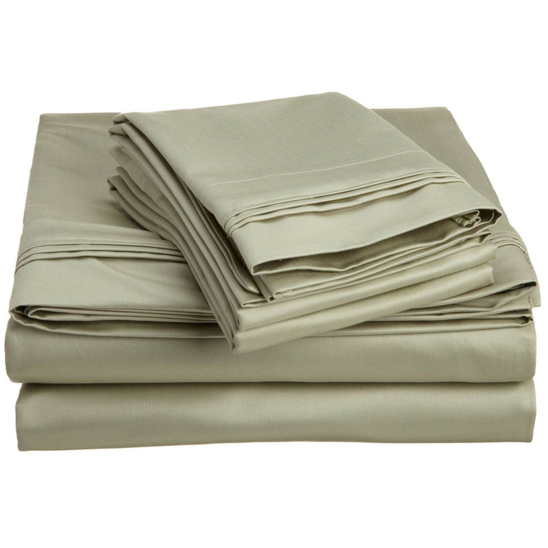 Luxurious 1500-Thread-Count Sheet Set, 100% Egyptian Cotton, 9 Colors