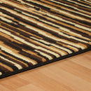 Horizons Rug, Wavy Stripes, Abstract, Modern