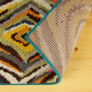 Jubilee Retro Abstract Area Rug