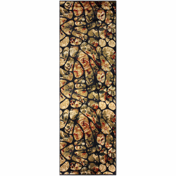 Designer Mosaic Tile Area Rug Collection