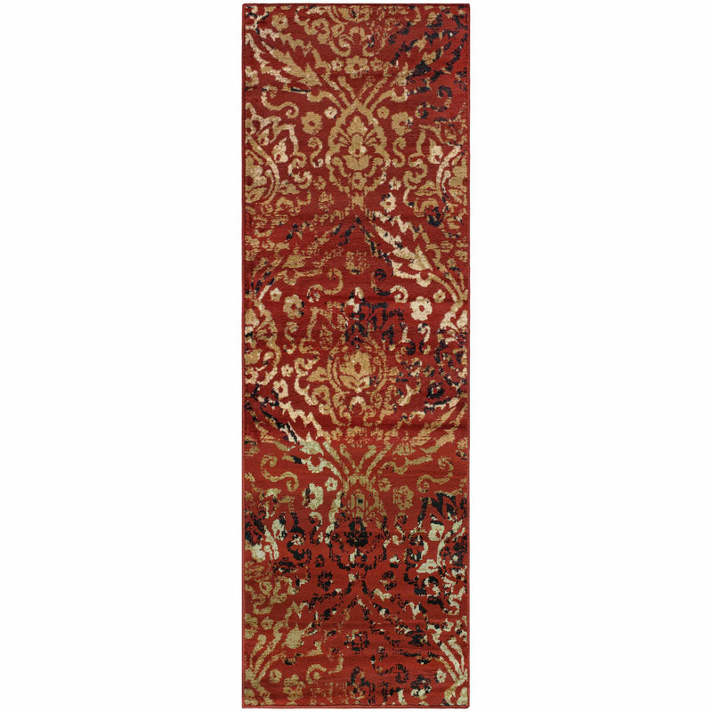Northman Area Rug, Damask, Oriental Pattern, Abstract, Contemporary