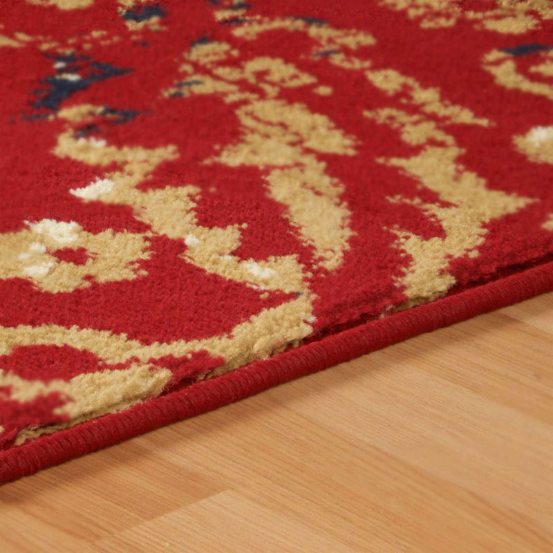 Northman Contemporary Oriental Damask Rug