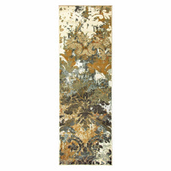Roslyn Area Rug, Floral, Abstract, Modern