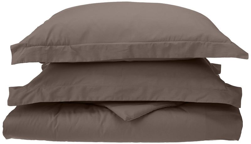 Percale Duvet Cover Set With Shams, 300-Thread-Count, Long-Staple Cotton