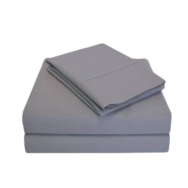 Soft Cotton Percale Sheet Set