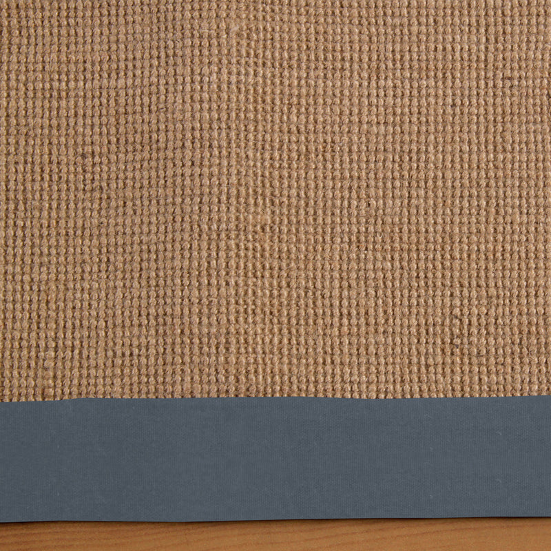 Natural Classic Hand-Woven Jute Rug
