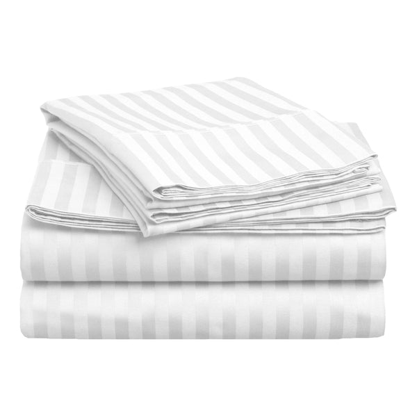 Soft Striped Cotton Sheet Set