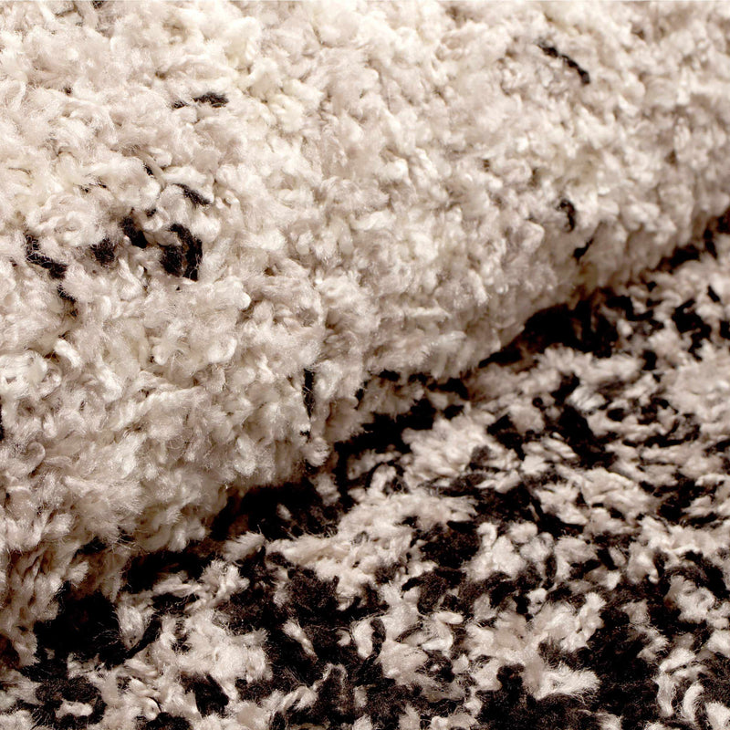 Galaxias Abstract Extra-Thick Pile Ombre Shag Rug