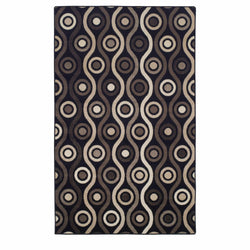 Archer Area Rug, Retro, Transitional Design