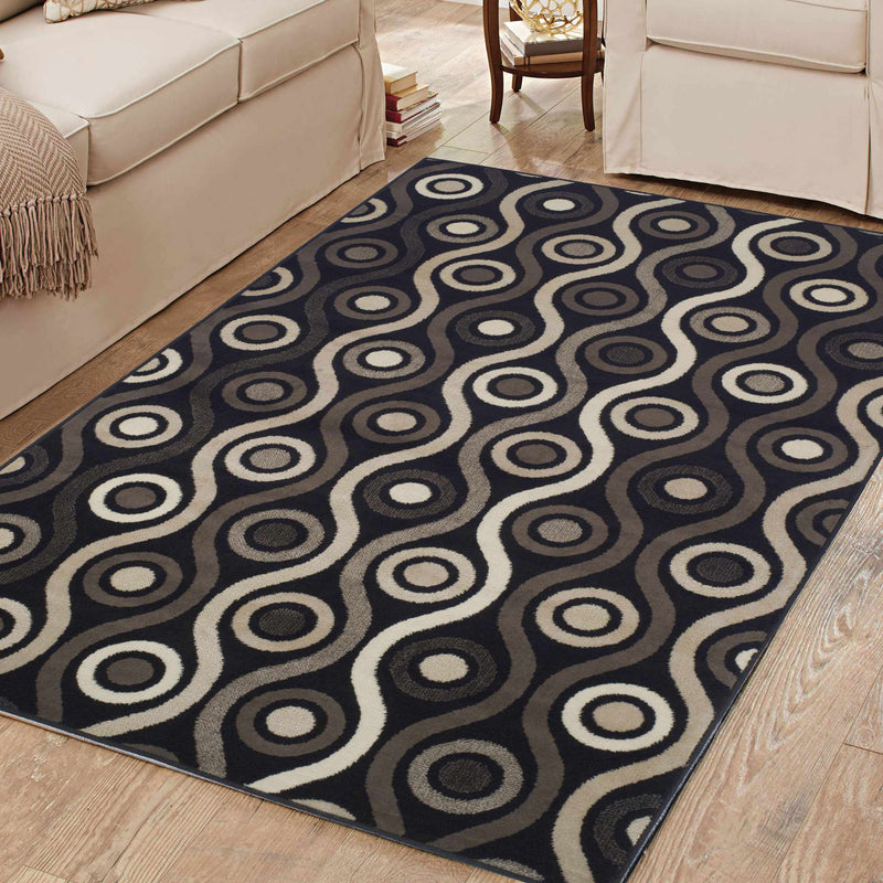 Archer Retro Transitional Rug
