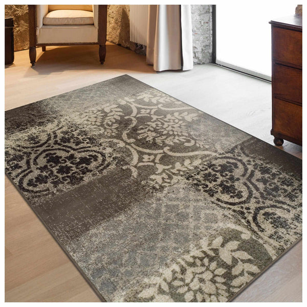 Bristol Area Rug, Distressed, Contemporary