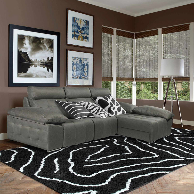 Carelton Hand-Woven Shag Area Rug Collection