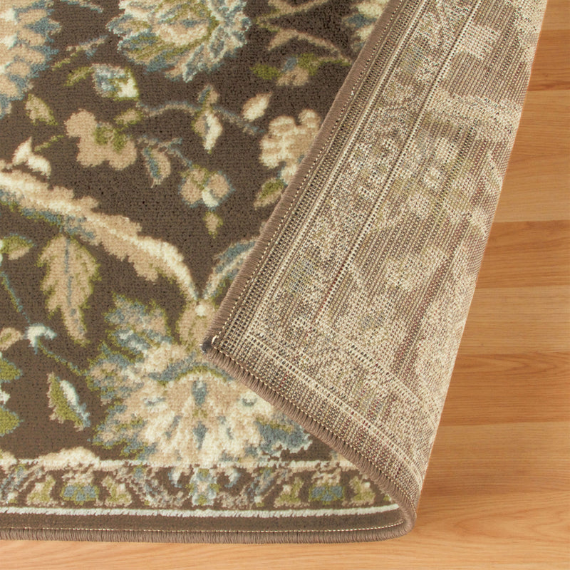 Chandler Vintage Transitional Floral Damask Rug