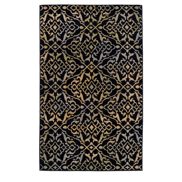 Damask Corbin Area Rug Collection
