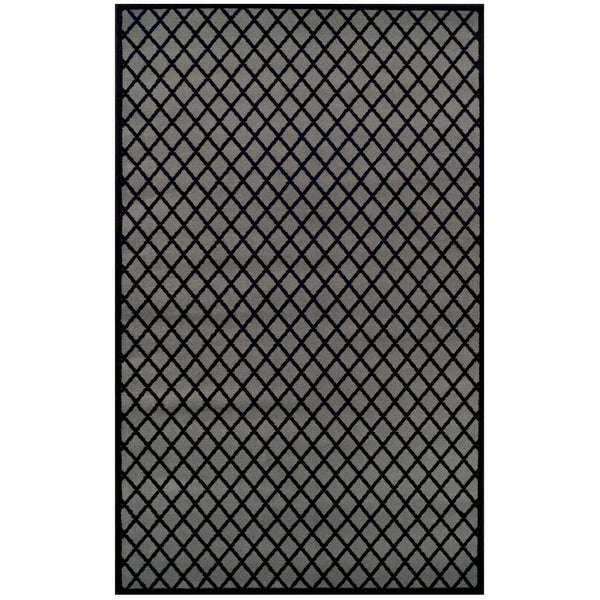 Davenport Area Rug, Geometric, Windowpane Pattern, Contemporary