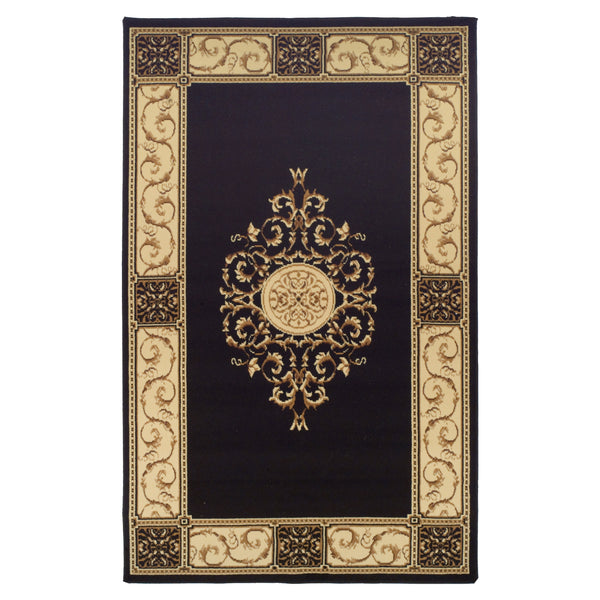 Elegant Medallion Area Rug Collection