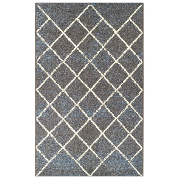 Lattice Area Rug, Geometric, Criss-Cross Pattern, Modern