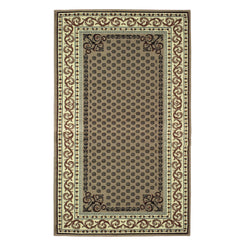 Longfield Area Rug, Lattice Design, Oriental Pattern, Traditional