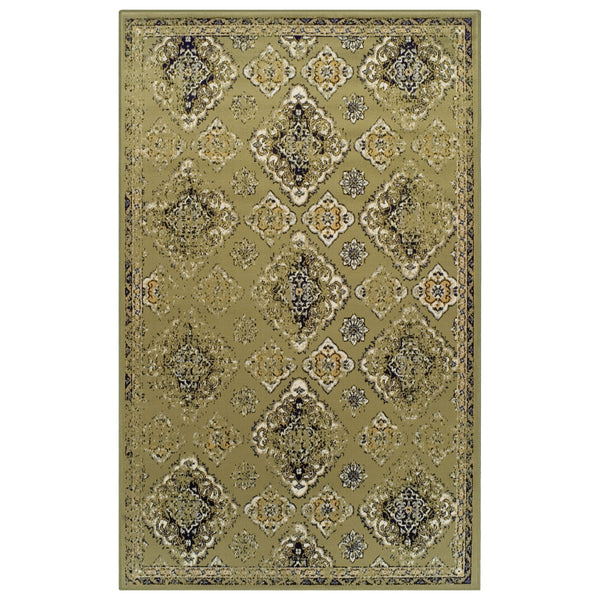Mayfair Area Rug, Diamond Medallion, Moroccan, Vintage