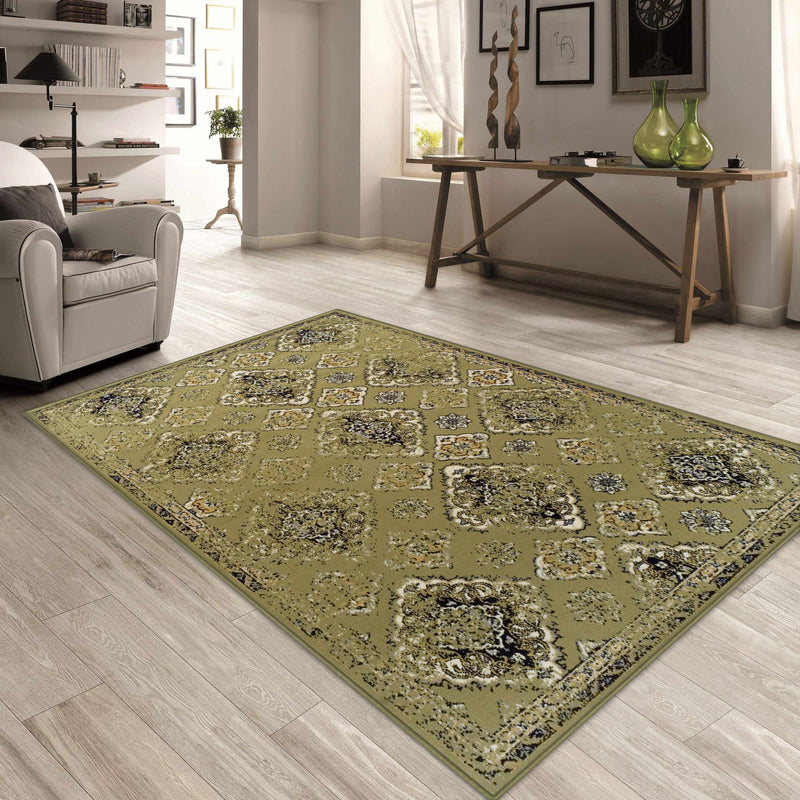 Mayfair Vintage Moroccan Diamond Medallion Rug