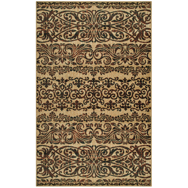 Sheffield Area Rug, Floral, Ornamental Scrolls, Transitional