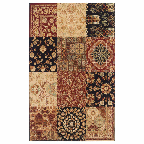 Zingara Patchwork Area Rug Collection