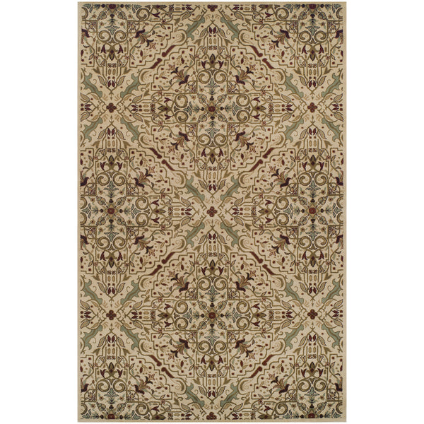Camille Area Rug, European Pattern, Vintage Style