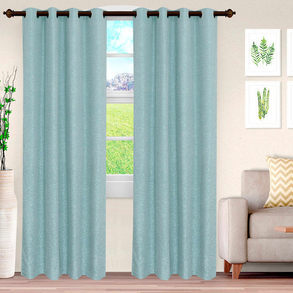 Superior Metallic Cascade Jacquard 2 Panel Curtains
