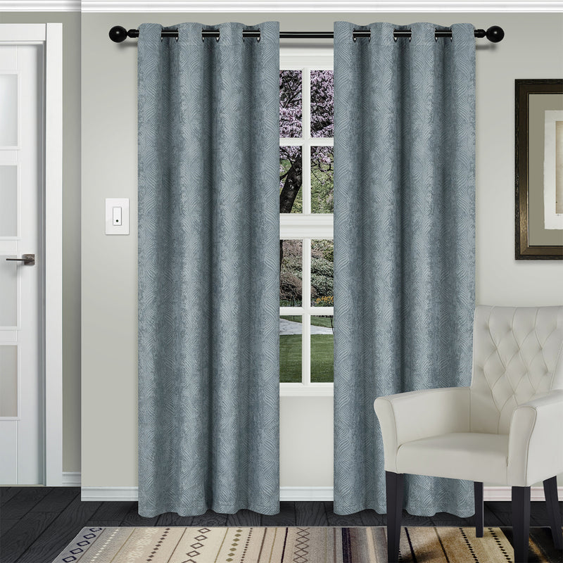 SUPERIOR WAVERLY BLACKOUT 2 PANEL CURTAINS