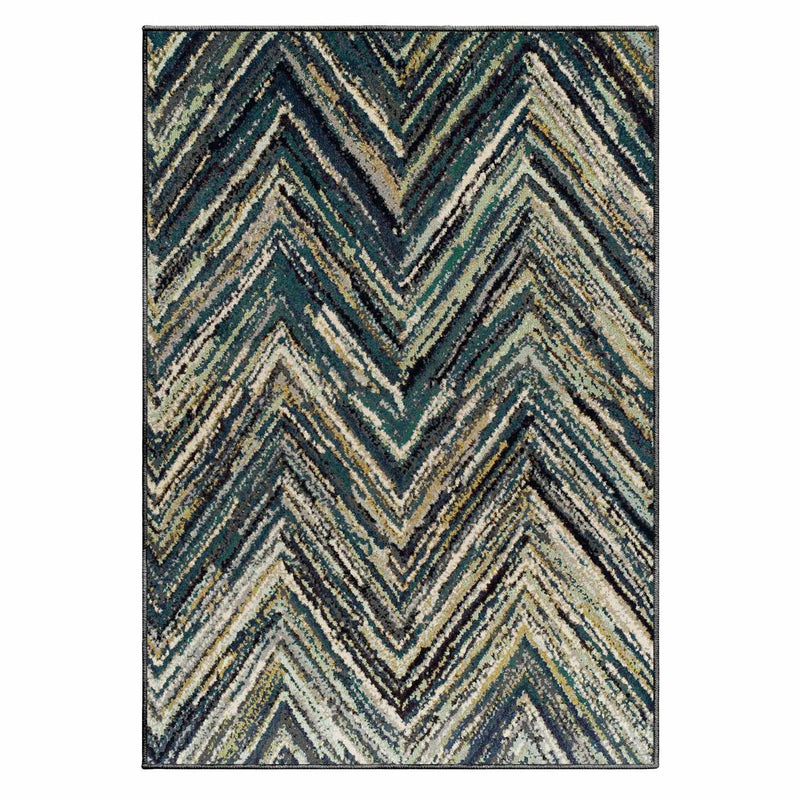 Avril Area Rug, Chevron Pattern, Modern
