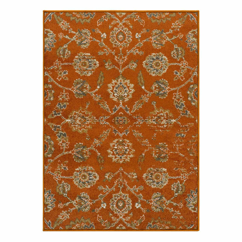 Brookshire Traditional Antique Look Area Rug