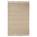 Chevron Eco-Friendly Hand Woven Jute Rug