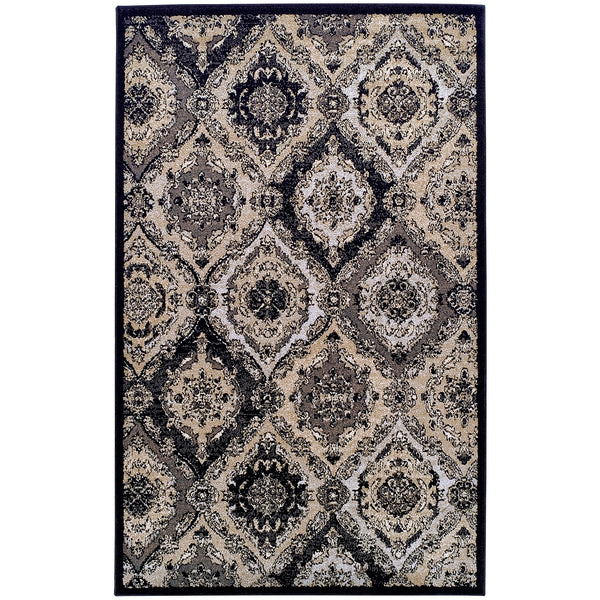 Hayden Area Rug, Medallion, Trellis, Contemporary