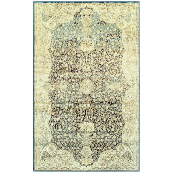 Lumen Indoor Area Rug, Floral, Distressed, Oriental
