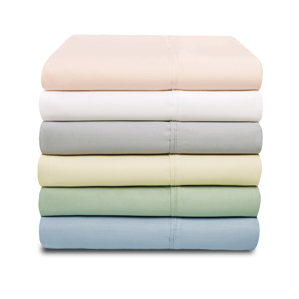 Silky Tencel Blend Pillowcase Set, 600 Thread Count, 12 Colors