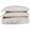 650-Thread Count 100% Egyptian Cotton Plush Striped Duvet Cover Set