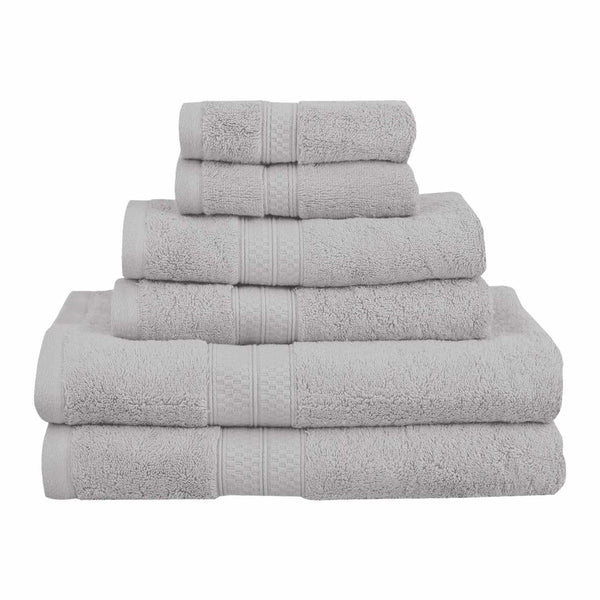 Meadowcove Rayon from Bamboo Towel Set, 650 GSM, 6-pieces