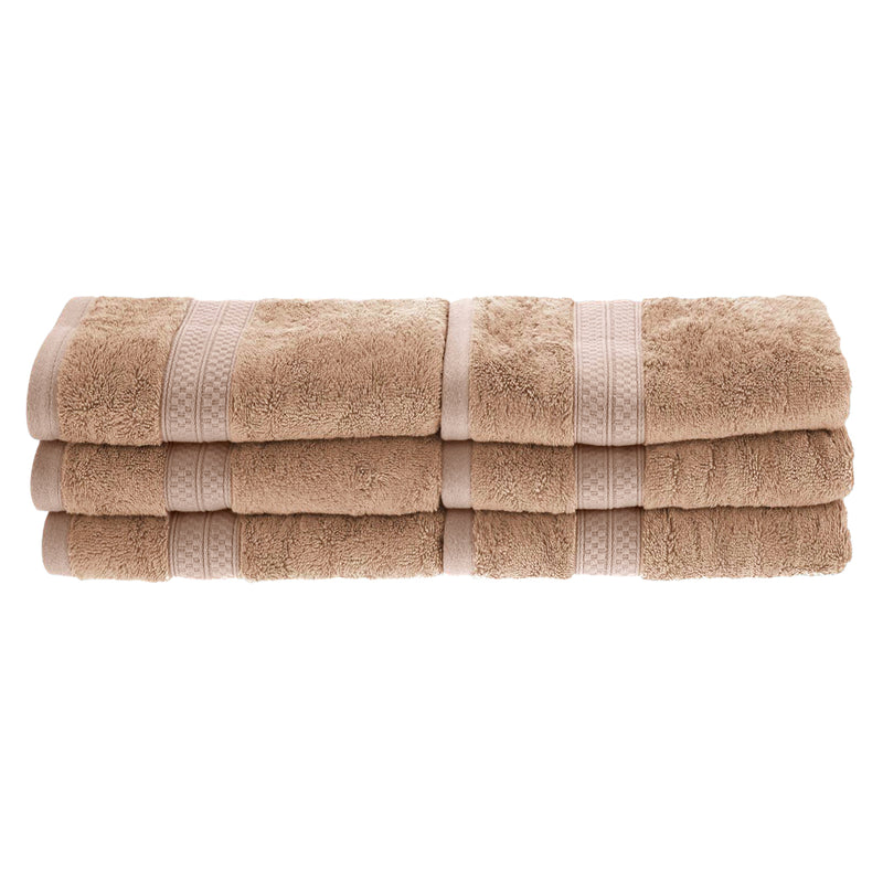 Meadowcove Rayon from Bamboo Hand Towels, 650 GSM, 6-pieces