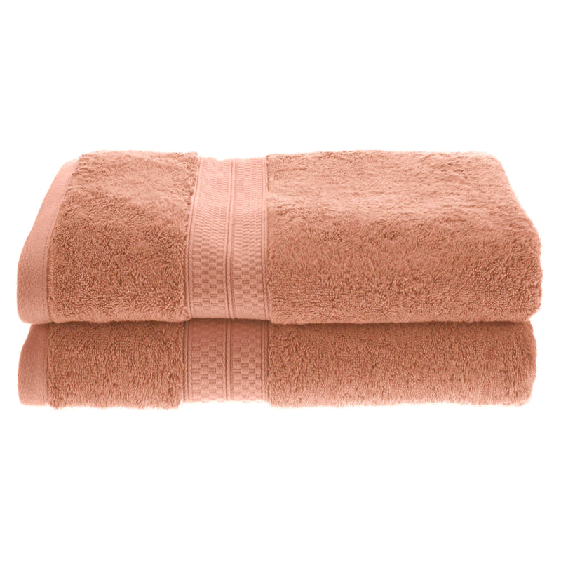 Meadowcove Rayon from Bamboo Bath Towels, 650 GSM, 2-pieces