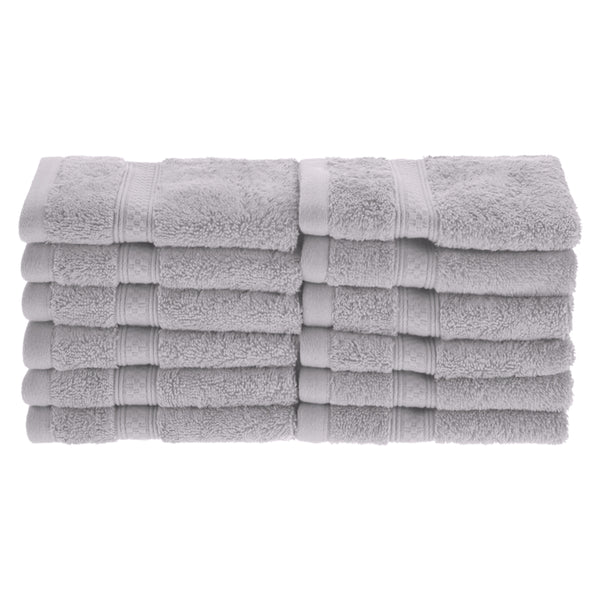 Meadowcove Rayon from Bamboo Face Towels, 650 GSM, 12-pieces