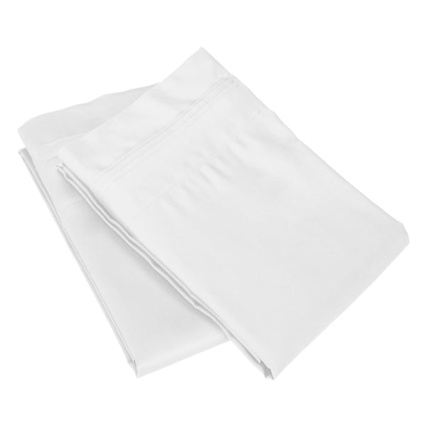 Egyptian Cotton Standard Pillowcases, 650 Thread Count, 2-Pieces