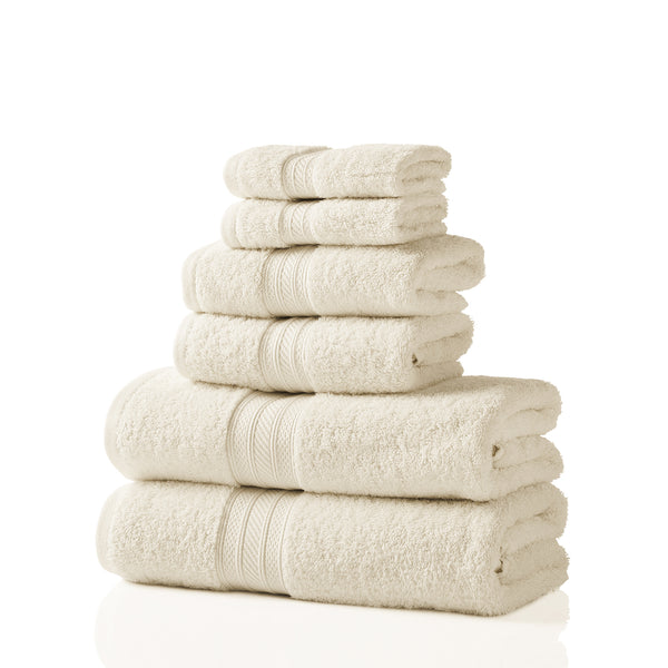 700 GSM Cotton 6 Pc Towel Set