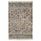 Ziazan Rustic Handcrafted from Recycled Cotton and Wool Rug