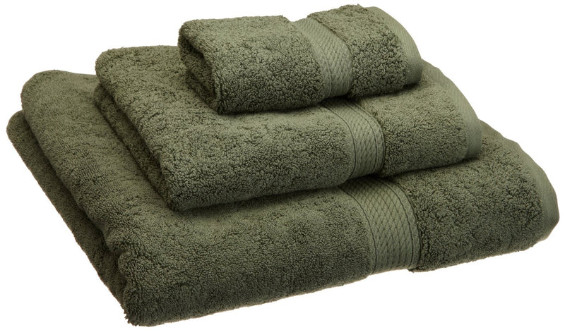 Leyebourne Egyptian Cotton 3-Piece Towel Set, 900 GSM, Hotel Quality