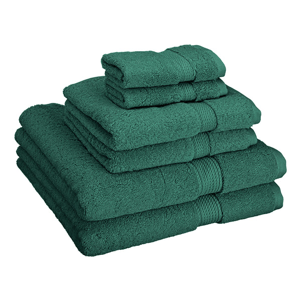 Super Absorbent 6-Piece Cotton Bath Towel Set