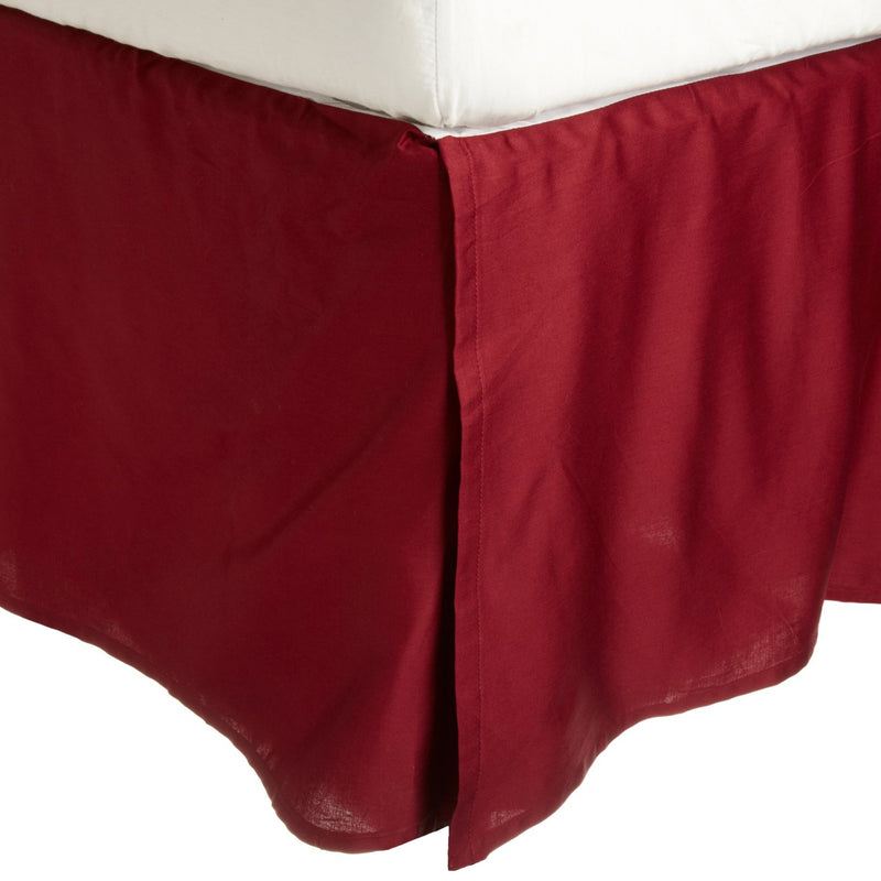 "300-Thread-Count Premium Long-Staple Cotton Bed Skirt, 15"" Drop, 19 Colors"